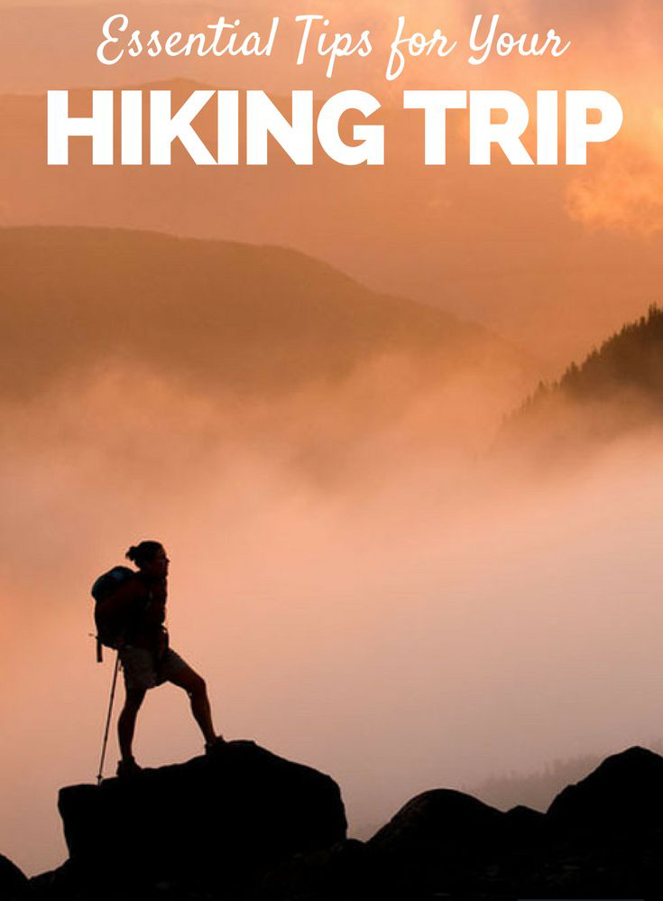 hiking trip tips